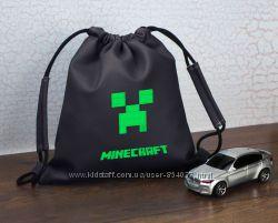 Рюкзак-мешок детский кожзам с вышивкой