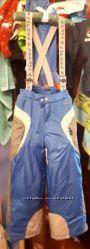 Продам лыжные зимние штаны, полукомбинезон Chicco на мальчика на 7 лет