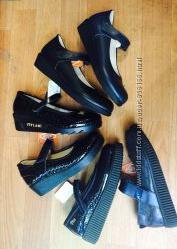 Туфли для школы. Новая коллекция  Tiflani - Турция. 31-36