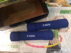 Гантели KEPAI для женщин и детей пара 2шт по 650гр. Картонна упаковка.