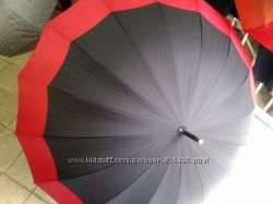 Зонт трось полуавтомат16 спиц Rainbow