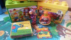 Много фирменных игрушек