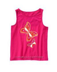 Майки и футболки на 12-18м, 2, 3 года Childrens Place, Crazy8- 10 расцветок
