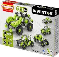 Engino Конструктор серии INVENTOR 12 в 1 - автомобили, мотоциклы, самолеты