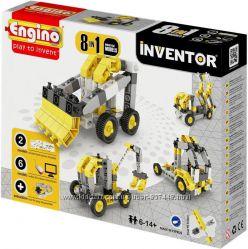 Engino Конструктор серии INVENTOR 8 в 1 - автомобили, мотоциклы, самолеты