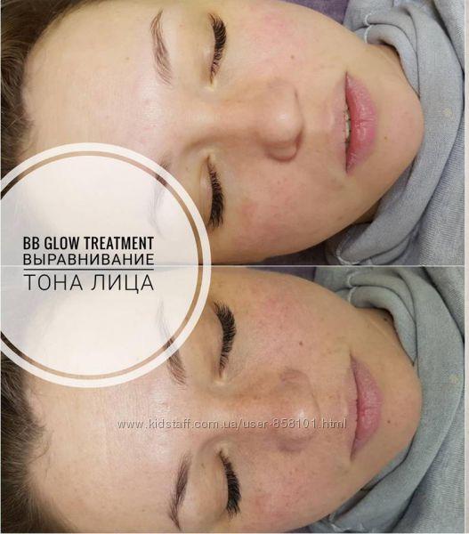 Процедура BB GLOW TREATMENT-эффект тонального крема на год 1 год.