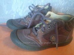 ботинки кожа rither