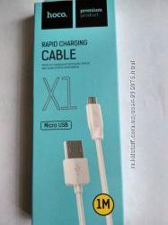 Шнур Мікро Hoco x1 1m кабель 1м