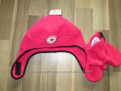 Комплект Converse шапка и рукавицы