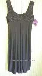 Супер платье черное свободное s-m