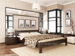 Деревянная кровать из натурального бука РЕНАТА ЭСТЕЛЛА