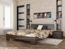 Деревянная кровать из натурального бука ТИТАН ЭСТЕЛЛА