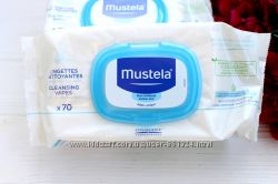 Mustela Lingettes Dermo-Apaisantes Parfum&eacutees 70 Lingettes  Салфетки детские