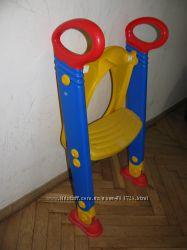 Сидіння, накладка на унітаз зі сходками