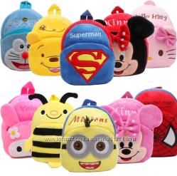 Детские рюкзаки в ассортименте, новые