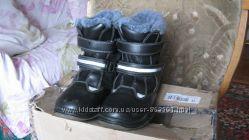 Зимние кожаные ботинки B&G, 30 р. , 19 см