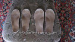 Ортопедические кожанные стельки ВП-2 17см, 18 см