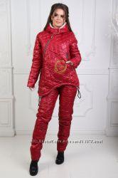 Теплющий спортивный костюм на меху, р. 42-44, 46-48, 50-52, 54-56 скидка