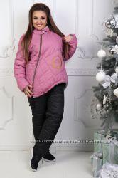Лыжный зимний костюм на овчине, р. 42-44, 46-48, 50-52, 54-56