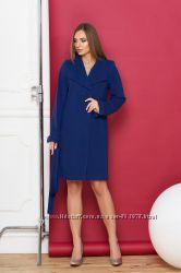 Великолепное женское классическое пальто А701, р. 42, 44, 46, 48, 50.