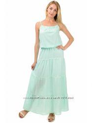 Легкое свободное платье на бретелях G345, разные цвета, р. S, M, L