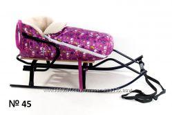 Конверт в санки коляски