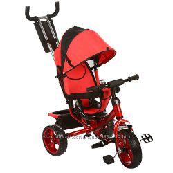 Трехколесный детский велосипед TURBO TRIKE M 3113 колеса EVA