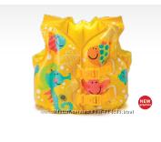 Жилет детский надувной для плавания Intex