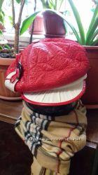 Новая Модная шапка с козырьком, кепка на флисе