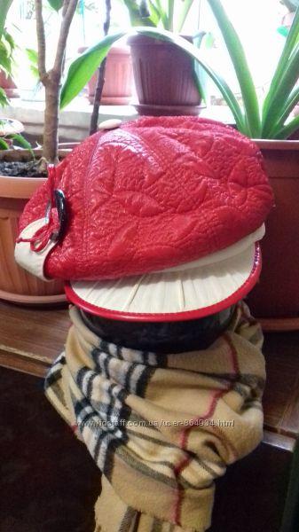 Модная шапка с козырьком, кепка на флисе