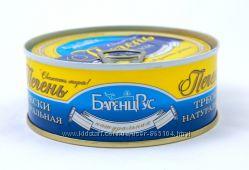 Печень Трески БаренцРус 240г Высший сорт