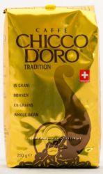 Швейцарский кофе молотый Сhicco Doro 250г