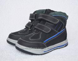Ботинки демисезонные для мальчика BI&KI. 25-30р. Кожа, супинатор