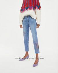 Стильні джинси сігарєти з краской фірми ZARA із Іспанії оригінал 34