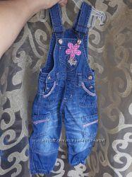 джинсовый комбинезон на 1 годик, купить