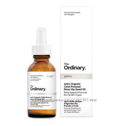 Масло шиповника The Ordinary 100 Organic Cold-Pressed Rose Hip Seed Oil