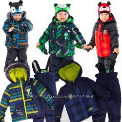 Детские зимние комбинезоны для мальчиков термо до -30 бренд ПЕЛЮШ Канада