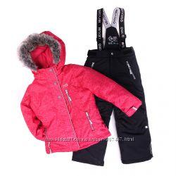Детские зимние комбинезоны для девочек бренд НАНО, ПЕЛЮШ Канада термо лыжны