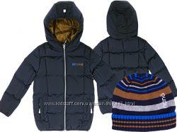 Детская стеганная куртка для мальчика бренд НАНО NANO демисезон весна осень