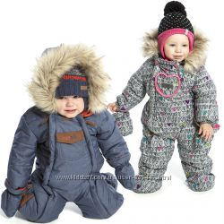 Детские зимние комбинезоны для девочек и мальчиков бренд НАНО Канада термо