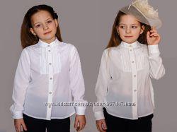 b97b5e3ec4b Нарядная школьная блузка белая
