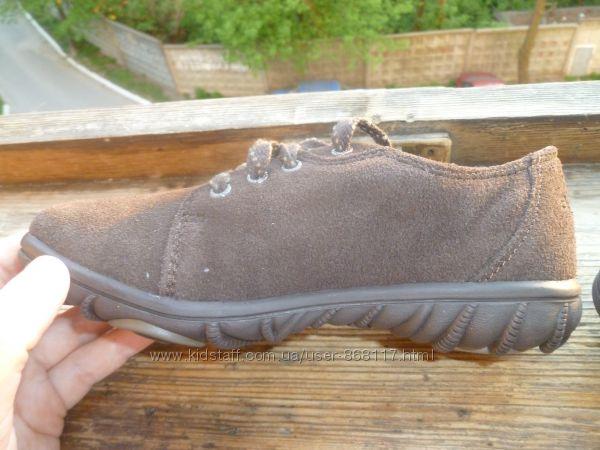 туфли замшевые Bogs. 19, 4 стелька