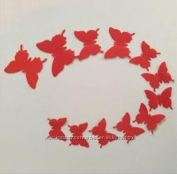 Бабочки для декора интерьера.