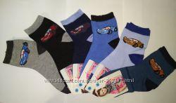 Носки для мальчика Тачки, Маквин 25-35 р