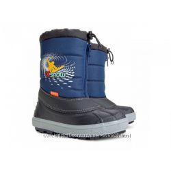 Зимние сапоги сноубутсы DEMAR X-SNOW синий р. 28-29, 30-31, 32-33