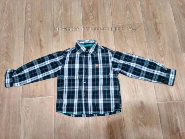 Рубашка на мальчишку 2-3-х лет