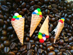 заколочки Мороженко Hande Made