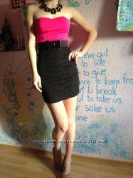 Платье черное, фуксияTally Weij. стрейтч вместе с поясом Германия