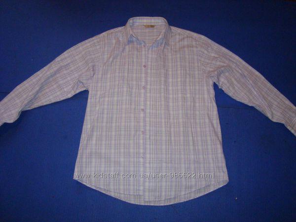 Рубашки мужские с длинным рукавом тонкие. Размеры S, М, L, XL XXL