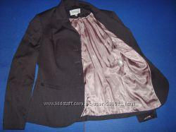 Пиджак женский темно фиолетовый на пуговицах. Next 16